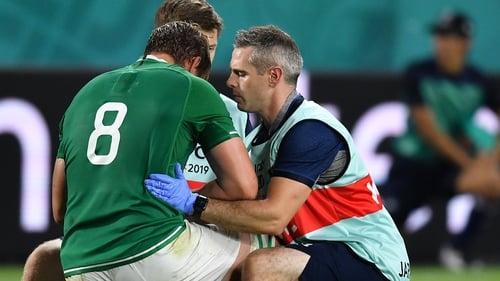 Jordi Murphy suffered a rib injury