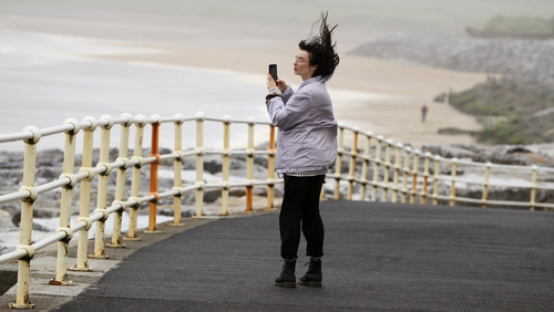 The west coast will experience stormy weather over the weekend (File pic)