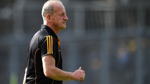 Michael Dempsey on the sideline with Kilkenny