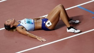 Katarina Johnson-Thompson upset the odds in Doha