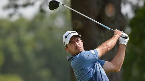 Taylor leads in Vegas after 63; Mickelson 2 back