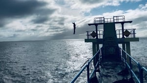 Back swimming in the sea! Regulars return to Blackrock Diving Tower in Salthill after heeding advice to stay away yesterday - apart from a few spotted in the water and dubbed 'reckless' by Galway City Council
