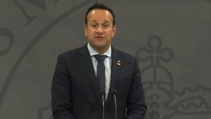 Leo Varadkar was speaking in Denmark
