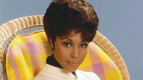 Diahann Carroll, pictured in 1970