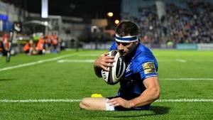 Fergus McFadden is back in the Leinster side