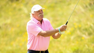 Desmond on course at the 2019 Irish Open Pro Am