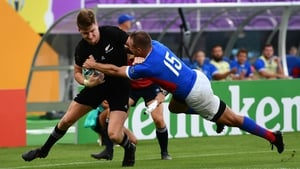 New Zealand won their pool game against Namibia on Sunday morning
