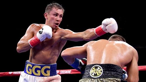 Gennady Golovkin won a unanimous decision against Sergiy Derevyanchenko