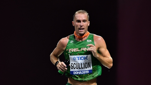 Stephen Scullion is the second fastest Irish marathon runner of all time