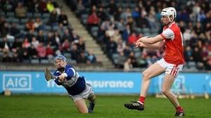Colm Cronin scores Cuala's third goal at Parnell Park