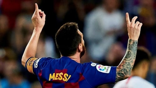 Lionel Messi is back and so are Barcelona