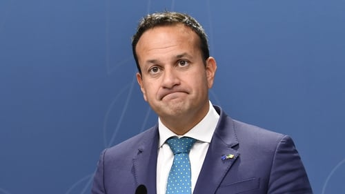 Leo Varadkar said it was notable that Sinn Féin, Labour and the Green Party all based their budgets on an orderly Brexit