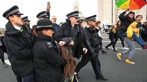 Police officers in London said that as of 12.30pm, they had made 135 arrests
