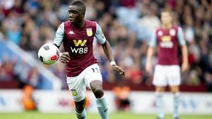 Marvelous Nakamba in action for Aston Villa
