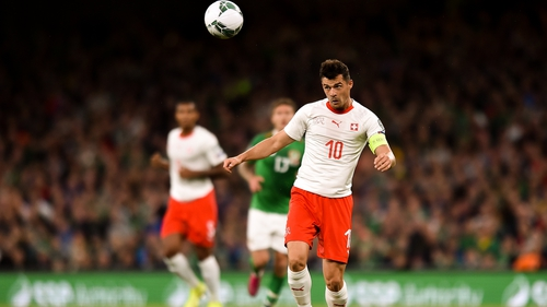 The Swiss FA have indicated Granit Xhaka will join up with the squad