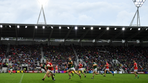 Action from this year's Munster final