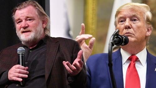 Brendan Gleeson will play Donald Trump in a new mini-series