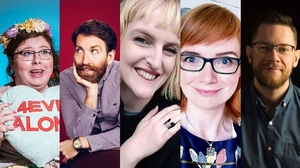 Red Line Festival guests Alison Spittle, Colm O'Regan, Sophie White, Twistedddoodles and Liam Geraghty