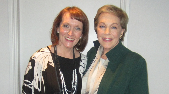 Aedín Gormley chats to Julie Andrews on Movies and Musicals