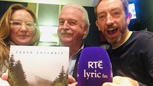 Crashing in: (L to R) Neva Elliott McGinley, Marty Whelan and David Brophy