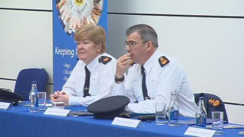Garda Commissioner Drew Harris said he is concerned about the under-reporting of hate crimes