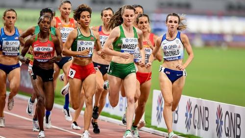 Ciara Mageean was a finalist at last year's World Championships in Qatar