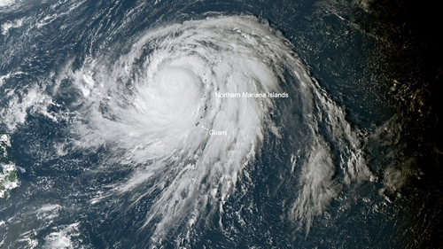 Hagibis is predicted to be one of the most violent typhoons to hit the region in recent years