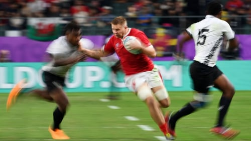 Ross Moriarty hailed Wales's character