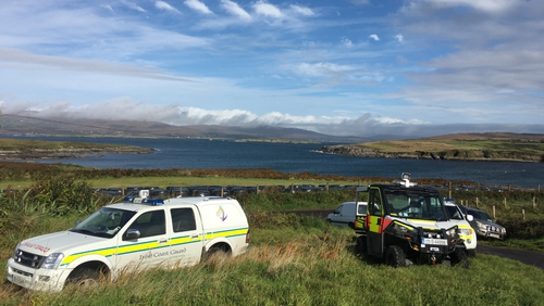 The operation is being led from Valentia Coast Guard station
