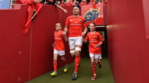 Billy Holland leads Munster again on Friday