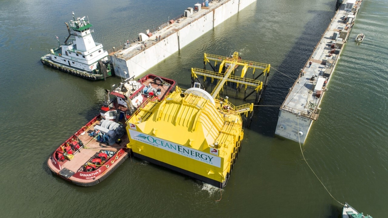 Irish company launches wave energy device in the US