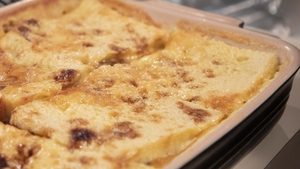 Domini Kemp's Sticky toffee bread & butter pudding