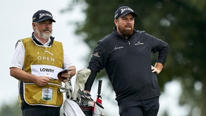 Shane Lowry is eight shots off the leader