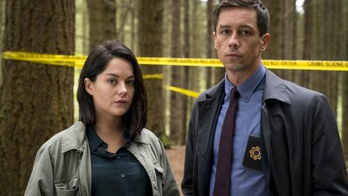 Sarah Greene and Killian Scott in Dublin Murders