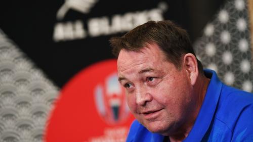 New Zealand's head coach Steve Hansen