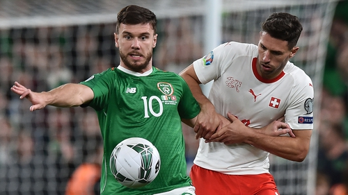 "Scott Hogan: ""I set myself high standards and I don't think I've come anywhere near them at international level."""