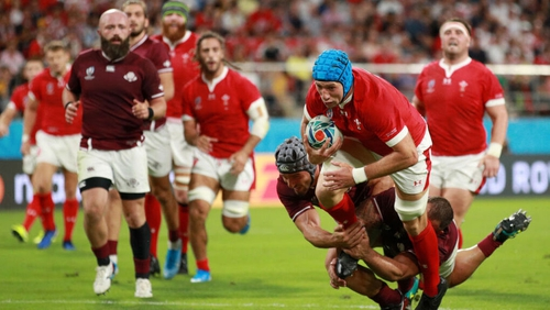 Justin Tipuric leads a Welsh team showing 13 changes from the side that beat Fiji on Wednesday