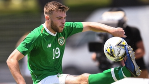 Aaron Drinan comes into the Ireland squad