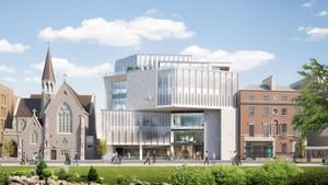 An impression of what the RCSI's €90m expansion will look like when complete