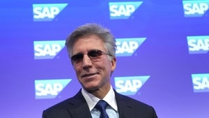 SAP's chief executive has announced he is stepping down after 10 years in the job