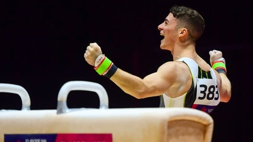 Rhys McClenaghan has become the first Irish gymnast to reach a world final