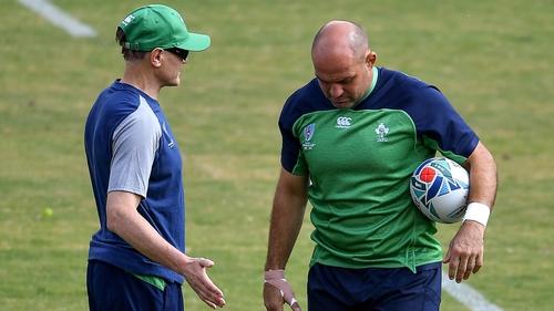 Ireland calm for Samoa clash amid Rugby World Cup typhoon turmoil