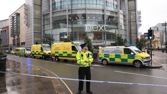 Several stabbed at Manchester shopping centre