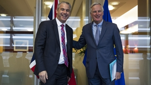 UK Brexit Secretary Stephen Barclay held key talks with EU chief negotiator Michel Barnier