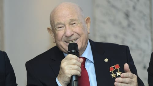 First man to conduct spacewalk, Alexei Leonov, dies aged 85