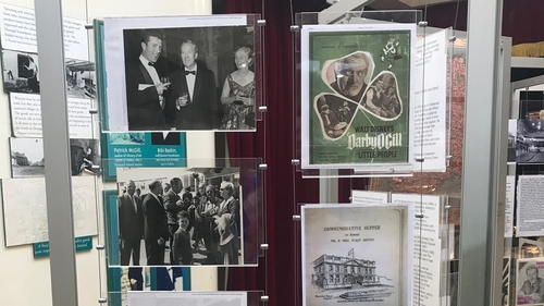 "Memorabilia included in exhibition called ""From Ireland to Hollywood: Darby O'Gill & the Little People: The World Premiere"""