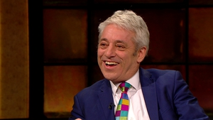 John Bercow said fragile peace should not be threatened