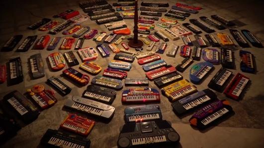 100 Keyboards, National Harp Day and a Michael Hartnett tribute