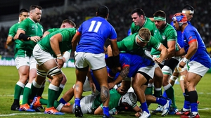 Best scored Ireland's first try