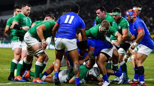 Best scored Ireland's first try